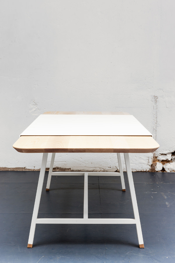 Judd la table rallonge par le studio trust in design for Table a rallonge
