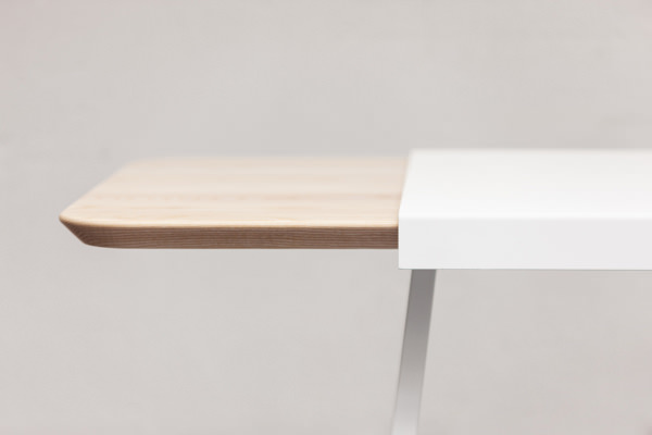 Judd la table rallonge par le studio trust in design - Table de cuisine a rallonge ...