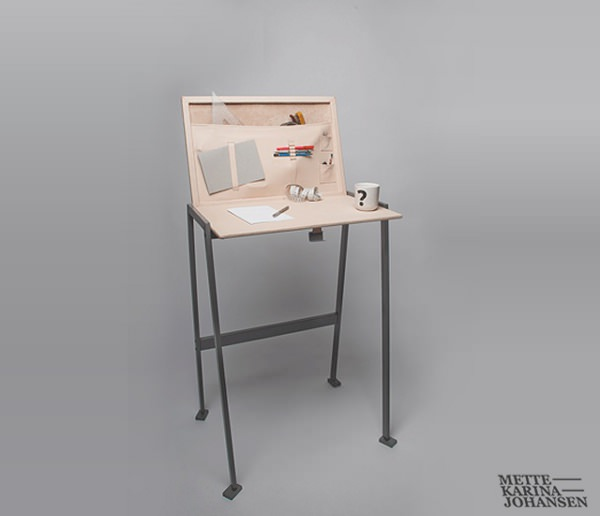 Pet Desk le bureau animal par Mette Karina Johansen