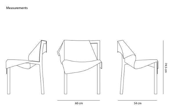 Toga la chaise dans le vent par Reut Rosenberg