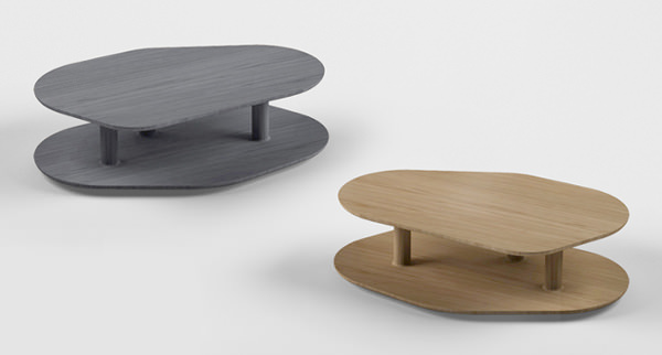 Table Rounded, pour Marcel By -  © Samuel Accoceberry