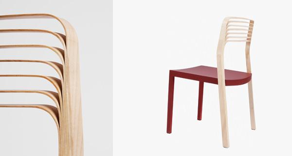 Chaise Air chair, édition VIA - © M. Flores – Reddot Design Award Winner 2009