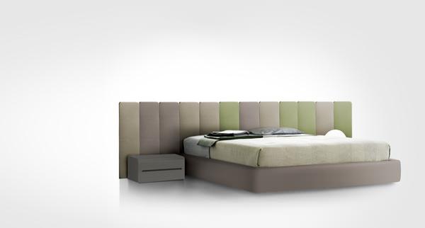 Chambre, lit Orhi, collaboration avec Jean-Louis Iratzoki, pour Pyrenea   - © Mito