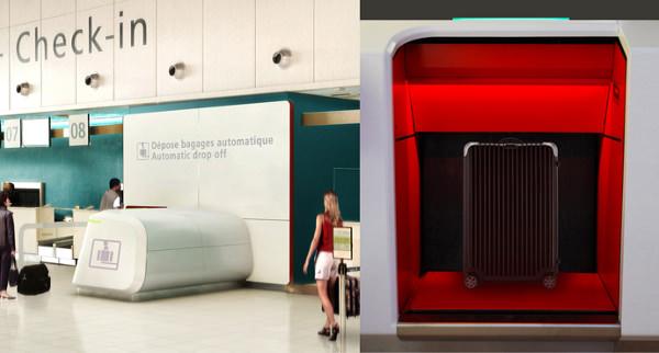 Dépose bagages, collaboration avec O. Beune et F. Da Costa, pour ADP -  © ADP – Label Observeur du design