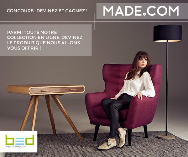 Concours : Devinez et Gagnez avec Made.com