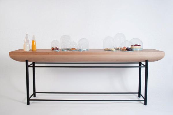 De Intuïtiefabriek design au féminin - console BREAKFAST BUFFET