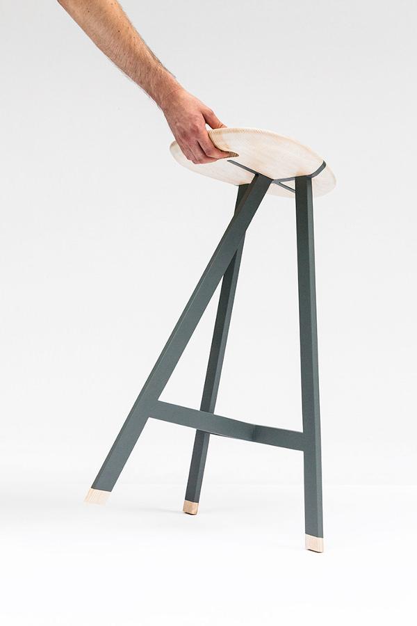Tabouret OLO - Surf Inspiration le design par le studio Trust in Design