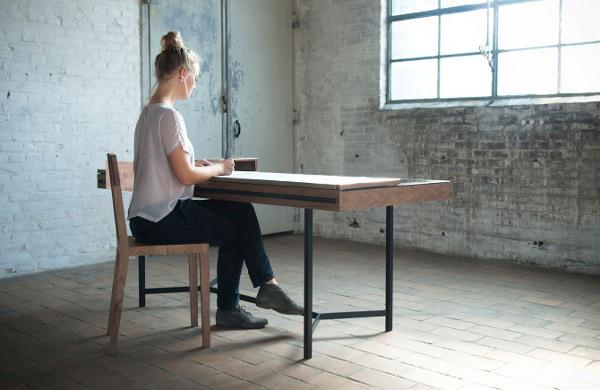 De Intuïtiefabriek design au féminin - Bureau VIRTU – SCRINIUM