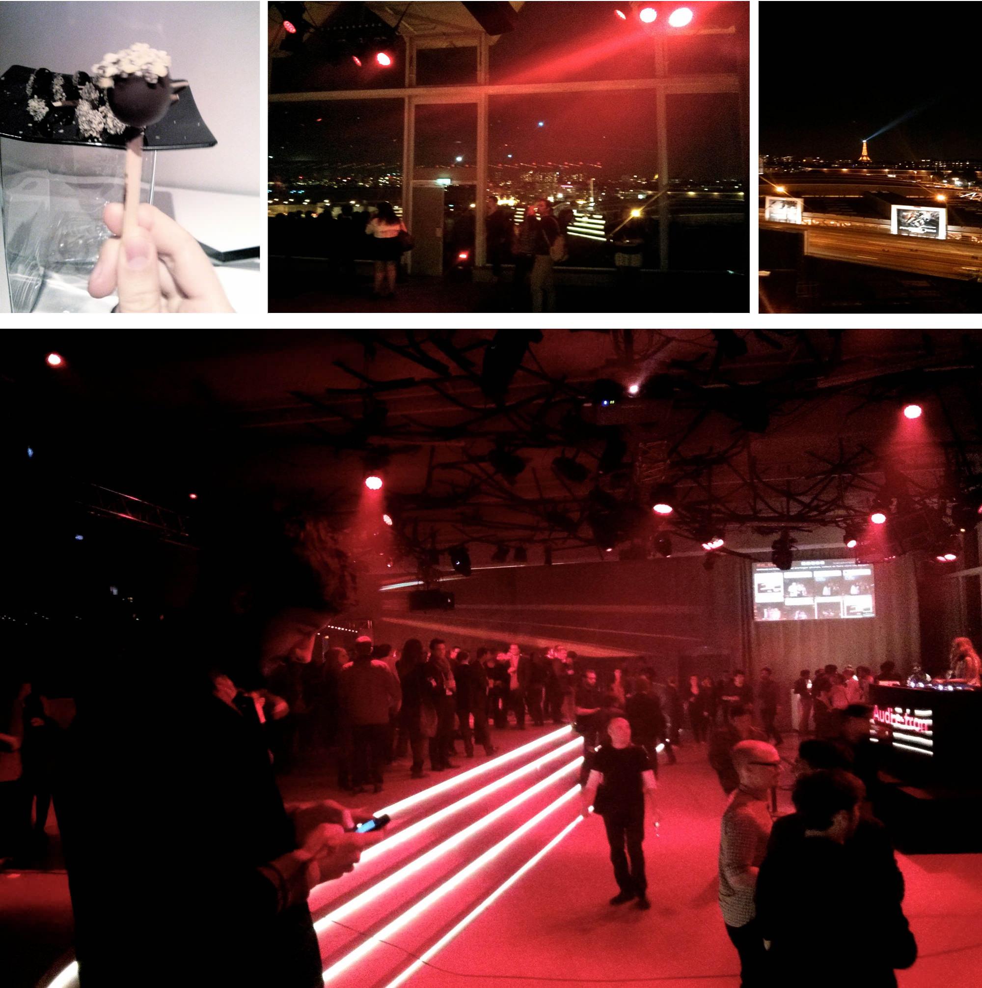 Audi e-tron le Design par le mouvement
