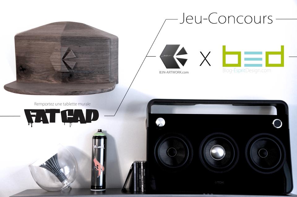Concours B3n Artwork x Blog Esprit Design