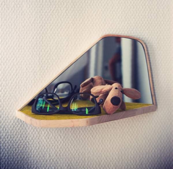 Coup de Coeur M&O 2013 : Miroir Alfred par Arnaud de Palange pour Metylos