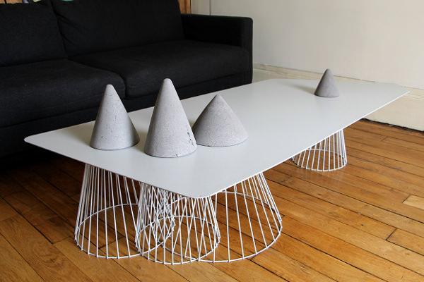 coup de coeur pdw 2013 table vuoristo par fabien barrero. Black Bedroom Furniture Sets. Home Design Ideas
