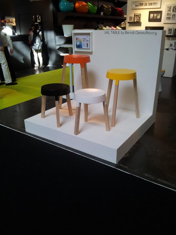 Retour sur Maison et Objet 2013 - Table bXl par Benoit Deneufboug