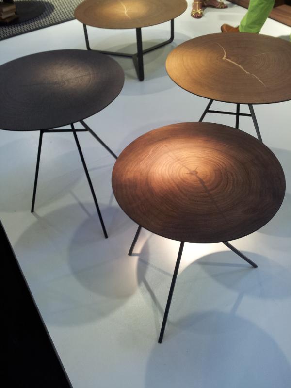 Retour sur Maison et Objet 2013 - Table métal et bois par Interni Edition