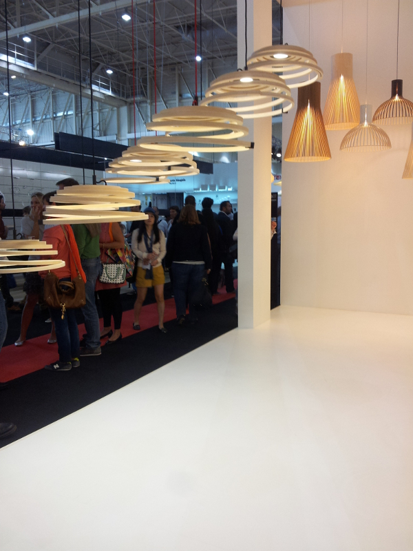 Retour sur Maison et Objet 2013 - Luminaire Secto Design