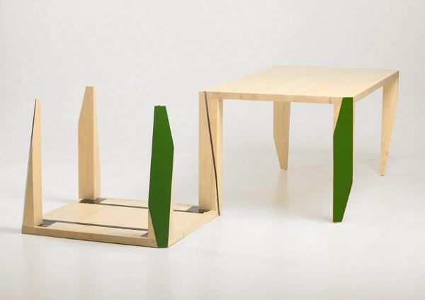 Table Cut par le studio Numen / For Use