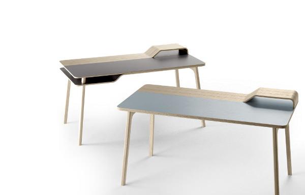 Bureau belharra par jean louis iratzoki blog esprit design for Table bureau design