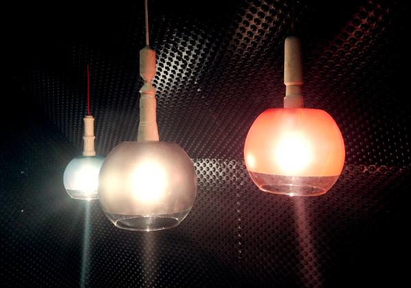 Coup de coeur PDW 2013 : Luminaires Fish Tank par Pierre Stadelmann