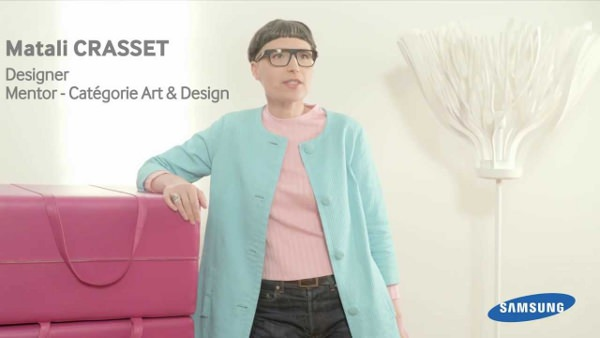 Interview de Matali Crasset pour Samsung Launching People