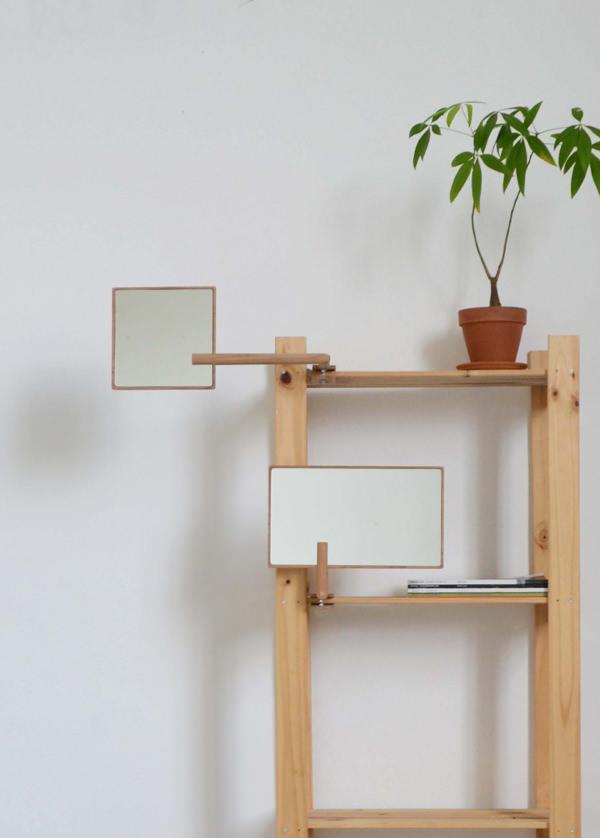 Parker collection de miroirs nomades par Paul Menand