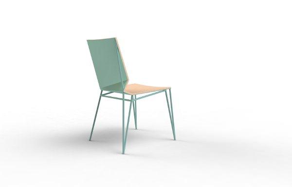 Projet etudiant : Chaise Paper par Julie Charrier
