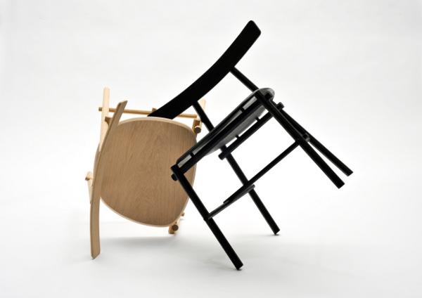 Ronin la chaise inspiration japonaise par Frederik Alexander Werner