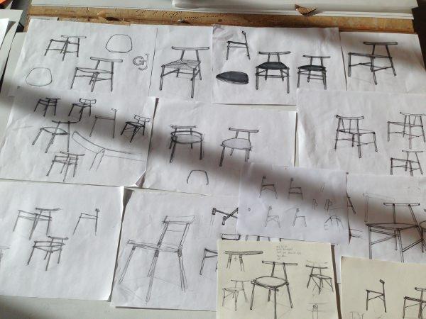 ronin la chaise inspiration japonaise par frederik alexander ... - Meuble Design Japonais
