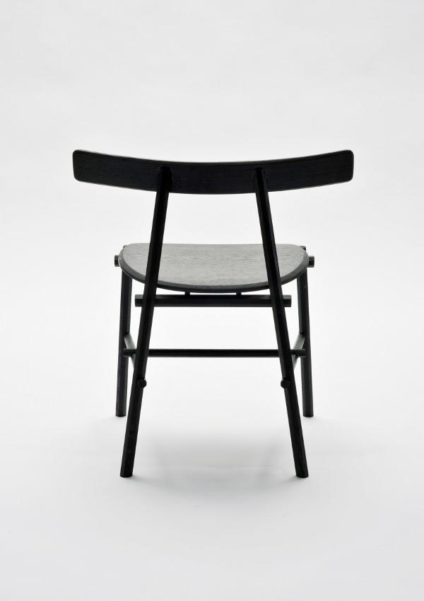 Ronin la chaise inspiration japonaise par frederik for Design japonais mobilier