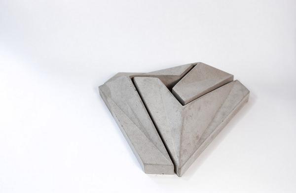 Centre de table Bastion Mont Penrose par Jean-Sebastien Poncet