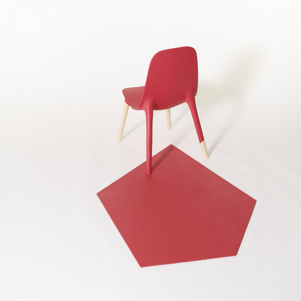 Chaise graphique Baby Pop par Paul Venaille