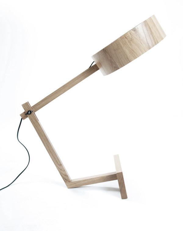 Lampe Bob par le studio Guizmo