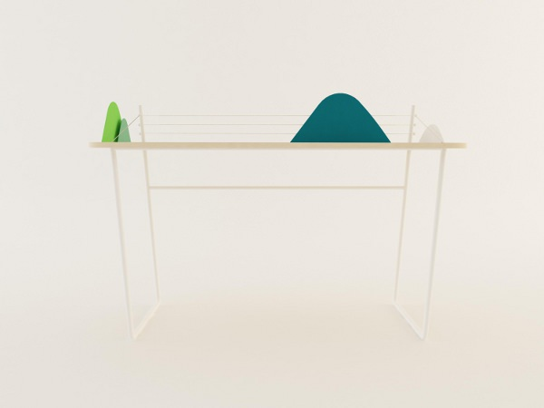Landscape table le bureau paysage par Jelena Vucicevic