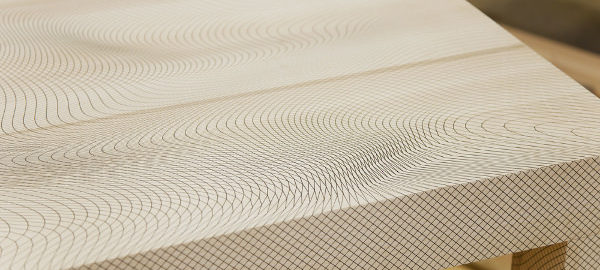 Table et mouvement collection Illusion par Pieke Bergmans
