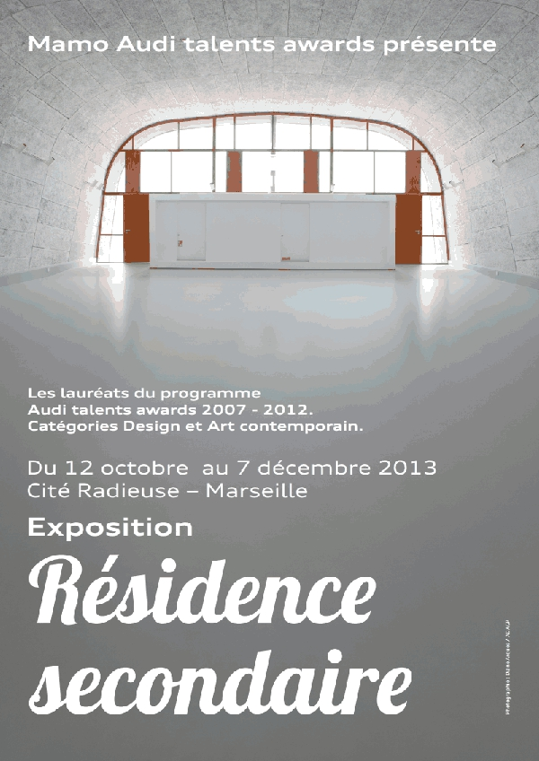 Visiter l'exposition Résidence Secondaire au MAMO Marseille