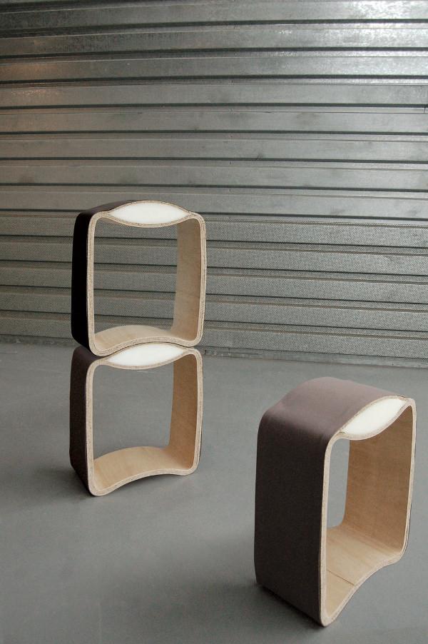 Le tabouret Krukje par Bold Design