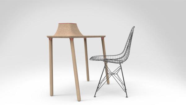 arbor le bureau d 39 appoint par tim defleur blog esprit design. Black Bedroom Furniture Sets. Home Design Ideas