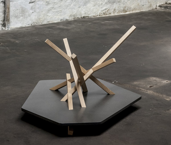 Table basse Fagot par Lisa Lejeune