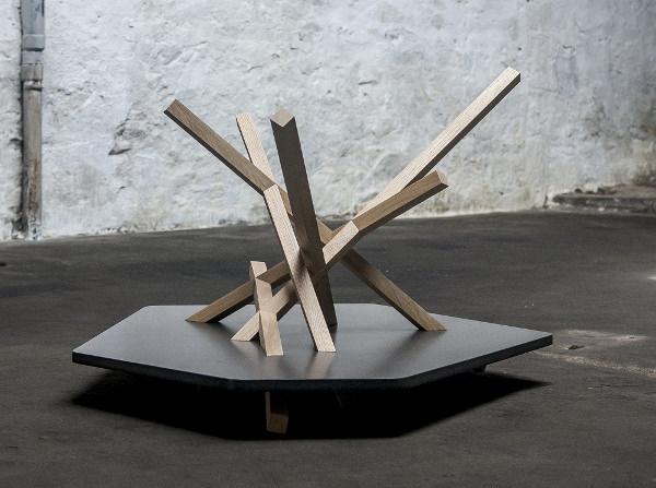 Table basse Fagot par Lisa Lejeune