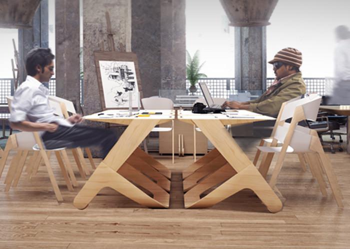 Work in Motion le bureau pour coworking par Fedor Katcuba