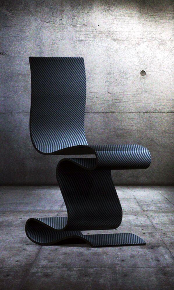 Carbon Chair by Ventury Lab