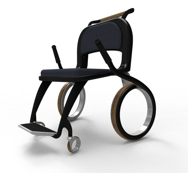 chaise roulante wheego par francisco salis gomes blog esprit design. Black Bedroom Furniture Sets. Home Design Ideas
