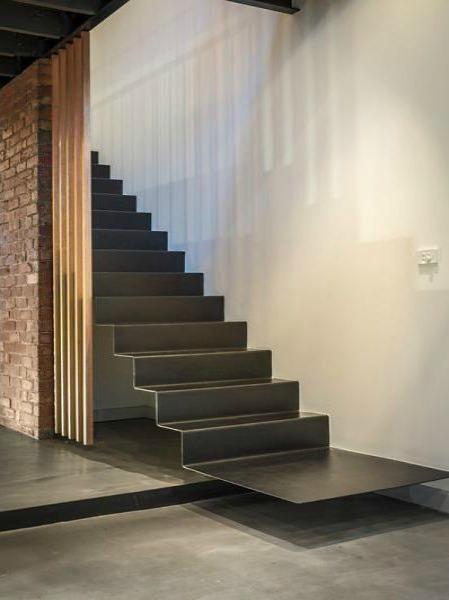 Escalier volant - loft Melbourne - Blog Esprit Design