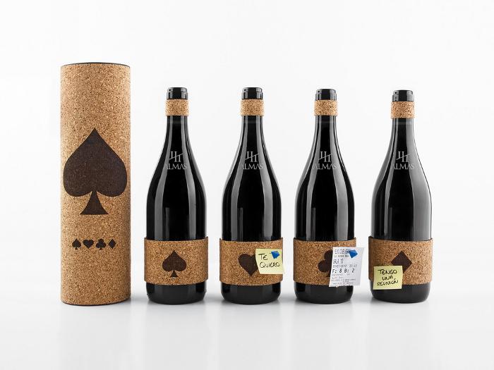 Wine packaging par le studio Grantipo