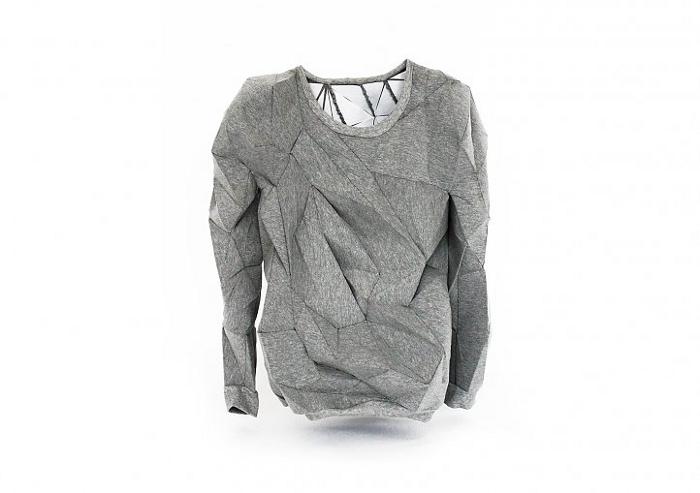 Geometric sweatshirt par Melt
