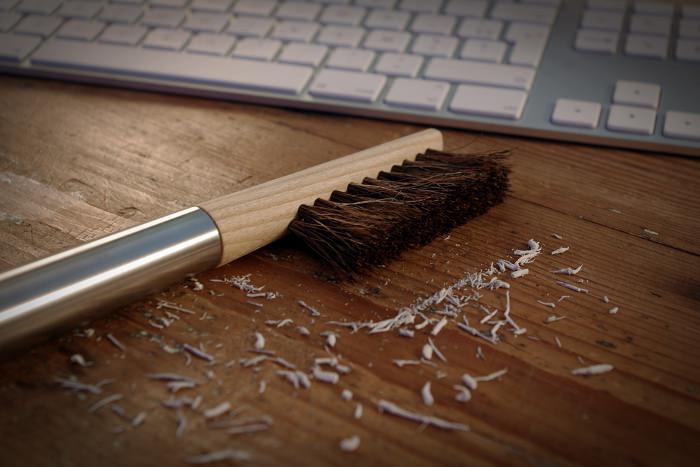 PUKKA la brosse pour bureau par Amaury Poudray