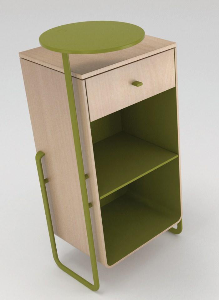 Projet etudiant pals mobilier modulable par mauricio for Mobilier bureau etudiant