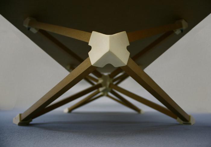 Projets Hedron et Octahedrons mobilier par Benjamin Migliore