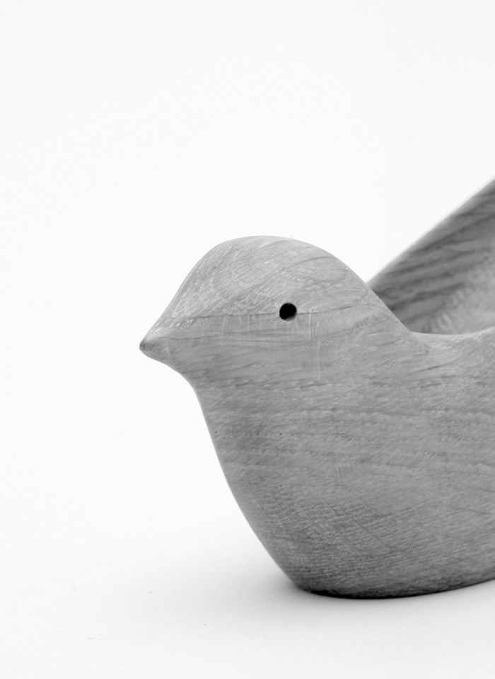 Tropical Bird oiseau pour bureau par Matter&Matter
