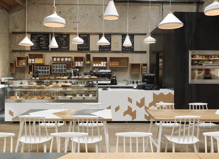 Cornerstone Café par Paul Crofts