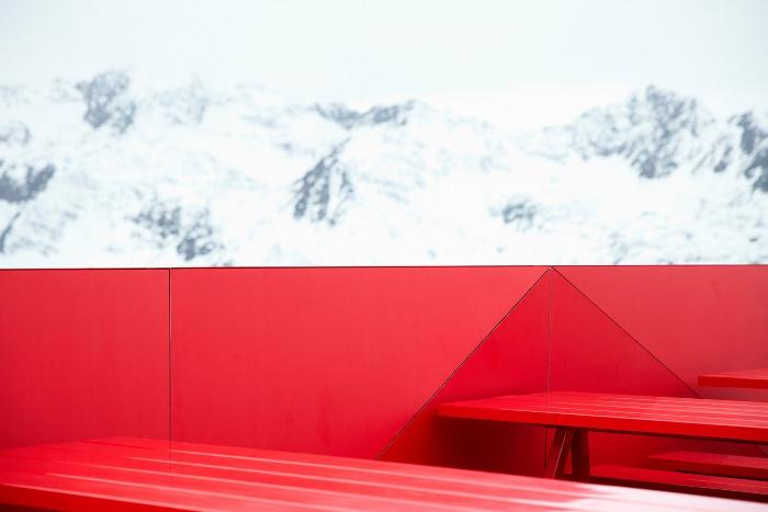 Audi repense le restaurant d'altitude